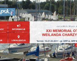 Memoriał Ottona Weilanda czas zacząć!