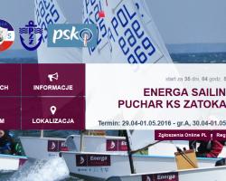 """Zaproszenie na Regaty o Puchar Klubu Sportowego """"ZATOKA"""" Puck"""
