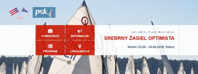 Srebrny Żagiel Optimista 2018 – tracking GPS dostępny na regatach