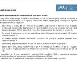 Regulamin PSKO 2019