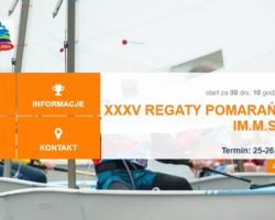XXXV Regaty Pomarańczowe im. M. Skubija czas zacząć