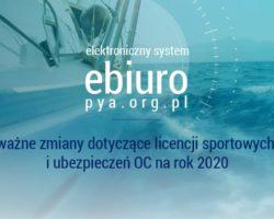 Nowe Licencje Zawodnicze / Składki 2020