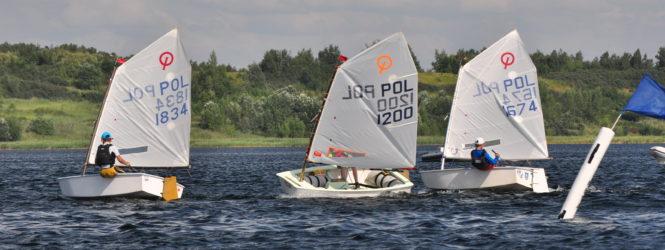 Udany pierwszy dzień regat Mistrzostw PSKO do lat 9 w Tarnobrzegu.